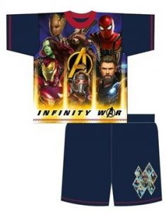 PYŽAMO AVENGERS Infinity War , Barva - Tmavo modrá , Velikost - 116