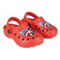 Crocsy AVENGERS , Velikost boty - 26-27 , Barva - Červená