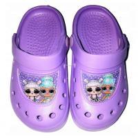 Crocsy LOL Surprise , Velikost boty - 24-25 , Barva - Fialová