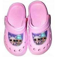 Crocsy LOL Surprise , Velikost boty - 24-25 , Barva - Svetlo ružová