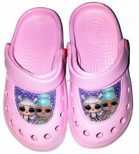 Crocsy LOL Surprise , Velikost boty - 26-27 , Barva - Svetlo ružová