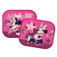 Clona do auta 2 ks v balení Minnie Mouse , Barva - Ružová