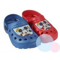 Crocsy Mickey , Barva - Modrá , Velikost boty - 23