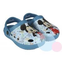 Crocsy Mickey , Barva - Modrá , Velikost boty - 28-29