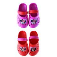 Crocsy Minnie Mouse , Velikost boty - 33-34 , Barva - Červená