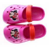 Crocsy Minnie Mouse , Barva - Ružová , Velikost boty - 31-32