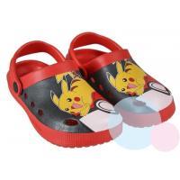 Crocsy Pokémon , Barva - Červená , Velikost boty - 26-27