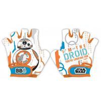 Cyklistické rukavice Star Wars BB-8 , Barva - Biela
