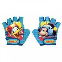 Cyklo rukavice Mickey Mouse , Barva - Modrá