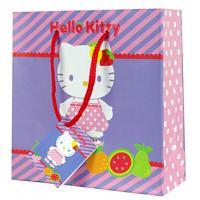 Dárčeková taštička Hello Kitty , Barva - Fialová