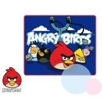 DEKA ANGRY BIRDS , Rozměr textilu - 120x140 , Barva - Tmavo modrá