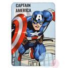 Deka Avengers , Rozměr textilu - 100x150 , Barva - Světlo modrá