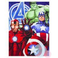 Deka Avengers , Barva - Barevná , Rozměr textilu - 90x120