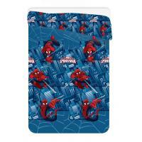 Deka letná prešívaná Spiderman Ultimate , Barva - Modrá , Rozměr textilu - 180x260