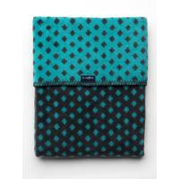 Deka so vzorom , Barva - Černo-modrá , Rozměr textilu - 75x100
