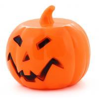 Dekorácie tekvice Halloween - zvuk a svetlo , Barva - Oranžová