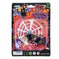 Dekorácie pavučina s pavúkmi , Barva - Čierna