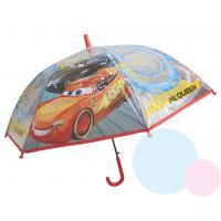 Dáždnik Cars Disney - priehľadný , Barva - Červená