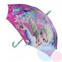Dáždnik Frozen vystreľovací , Barva - Tyrkysová