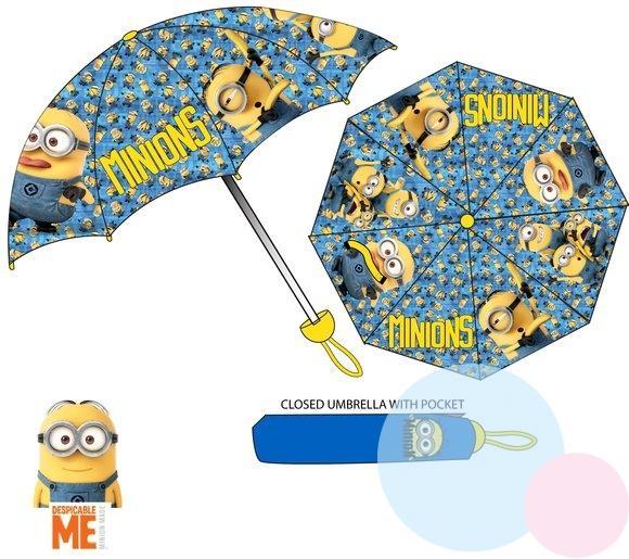36bd4bc98 detský dáždnik mimoni , Barva - Modrá , Velikost - Uni, Sun City ...