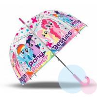Deštník My Little Pony průhledný , Barva - Ružová