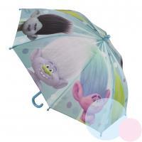 Dáždnik Trollové , Barva - Světlo modrá , Velikost - Uni