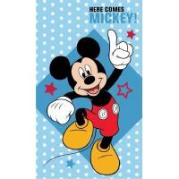 Uterák Mickey hviezdičky , Barva - Modrá , Rozměr textilu - 30x50