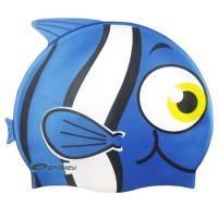 Kúpacie čiapka Ryba , Barva - Modrá
