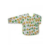 Bryndák s rukávy Sovičky , Barva - Zeleno-žltá