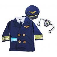 Kostým Pilot , Velikost - S , Barva - Modrá