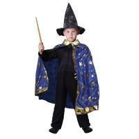Čarodejnícky plášť , Velikost - M , Barva - Modrá