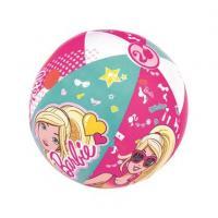 Nafukovací plážový balón Barbie , Barva - Tmavo ružová