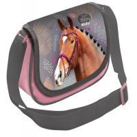 KABELKA Kůň , Barva - Šedo-růžová