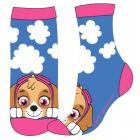 Ponožky Tlapková Patrola , Velikost ponožky - 23-26 , Barva - Modrá