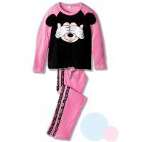 Pyžamo MICKEY - fleec , Dospělé velikosti - M , Barva - Ružová