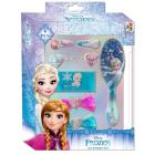 Doplnky do vlasov v darčekovej krabičke Ľadové Kráľovstvo , Barva - Tyrkysová