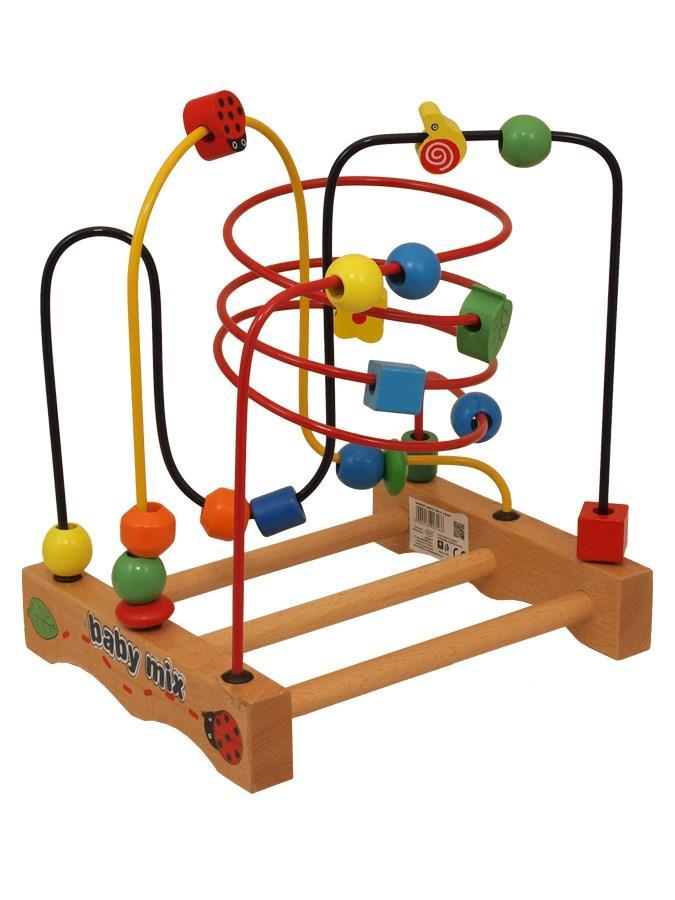 Drevená edukačná hračka Labyrint 5240772f52