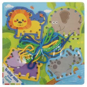 provlékací hračka Safari , Barva - Modro-zelená