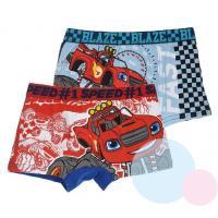 BOXERKY BLAZE - PLAMÍNEK 2ks , Barva - Červeno-modrá , Velikost - 122/128