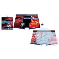 BOXERKY CARS Blesk McQueen 2ks , Velikost - 122/128 , Barva - Barevná