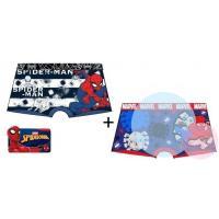 BOXERKY SPIDERMAN 2 kusy , Barva - Červeno-modrá , Velikost - 92/98