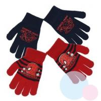 RUKAVICE SPIDERMAN 2ks , Barva - Modro-červená