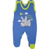 Dupačky New Baby Lovely Rabbit , Velikost - 52 , Barva - Modrá