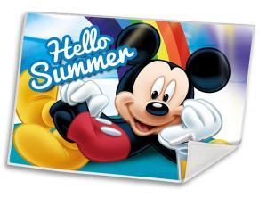 Ručník Mickey Summer , Barva - Barevná , Velikost - 30x40