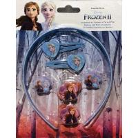Doplňky do vlasů Ledové Království 2 , Barva - Modrá