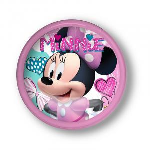 Lampička Minnie hearts LED , Barva - Ružová