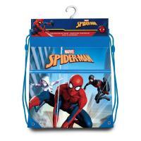 Pytlík na tělocvik a přezůvky Spiderman Paralelní světy , Barva - Modrá