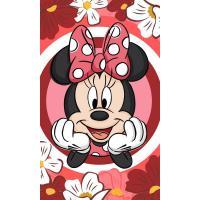 Uterák Minnie Disney , Barva - Červená , Rozměr textilu - 30x50