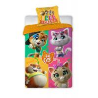 Povlečení  44 Cats , Barva - Barevná , Rozměr textilu - 140x200