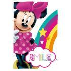 Deka Minnie Smile , Rozměr textilu - 100x150 , Barva - Barevná